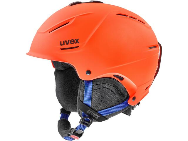 UVEX P1Us 2.0 Kypärä, orange-blue mat